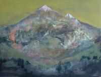 Cara Thorpe, Overshadow, acrylic on board, 18 x 24 cm, 2015
