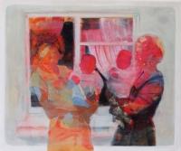 Oonagh Hurley, Kodak Moment, acrylic on canvas, 51 x 61 cm, 2015