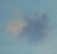 Tim Goulding, Single Cloud 2, 30.5 x 30.5 cm, acrylic on paper, € 1,550
