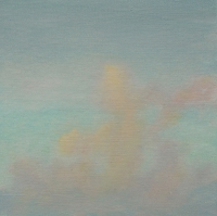 Tim Goulding, Evening Sky 7, 30.5 x 30.5 cm, acrylic on canvas, SOLD