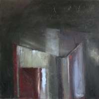 Carol Hodder <i>Box iv</i>, oil on canvas, 60 x 60 cm, 2011, € 1,750