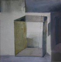 Carol Hodder <i>Box vi</i>, oil on canvas, 60 x 60 cm, 2011, € 1,750