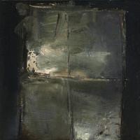 Carol Hodder, Studio Window I, oil on canvas, 20 x 20 cm, 2011, SOLD