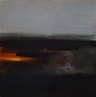 Carol Hodder, Dawn, oil on canvas, 100 x 100 cm, 2010