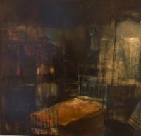 Colin O'Daly, Attic Room, oil on canvas, 49 x 51 cm, 2012