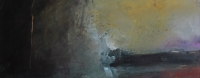 Carol Hodder, stormlands ix, oil on canvas, 30 x 75 cm, 2013, €1,500