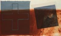 Hughie O'Donoghue, Fallen Angel, carborundum print