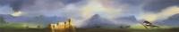 Gail Boyajian, Romantic Landscape Triptych, part B