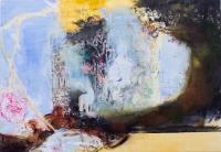Margaret Corcoran, The Rainbow, oil on canvas, 142 x 204 cm, 2014