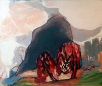 Jonathan Hunter, Knocknarea, 50 x 60 cm