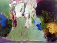 Jonathan Hunter, The Birds Return, 70 x 89 cm