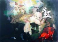 Jonathan Hunter, Magazine Hill/Fort, oil on canvas, 100 x 120 cms, 2015