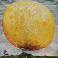 Peter Burns, Tender Mercies, oil on canvas, 70 x 70 cm, 2015