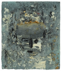 Head in Blue, oil on panel, 31 x 26 cm, 2005-2007