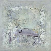 Morning Light, oil on board, 60 x 60cm, 2010, SOLD