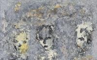 John Kingerlee, Three Heads, oil on board, 24 x 38 cm, 2008 SOLD