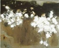 Bernadette Kiely, Bog Cotton, oil on canvas, 2004, SOLD