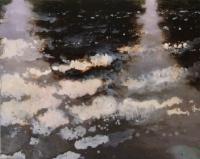 Bernadette Kiely, Flood iii, oil on canvas, 2007