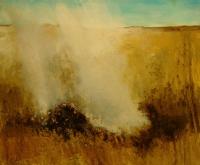 Bernadette Kiely, Marina's Field, oil on canvas, 2004 SOLD