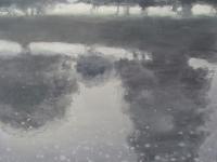 Bernadette Kiely, River Noor, Morning, oil on canvas, 14