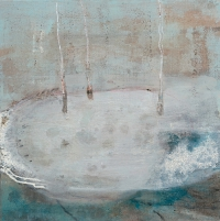 Siobhan McDonald, Dormant 2, 41 x 41 cm, oil on canvas, 2011, framed, € 1,900