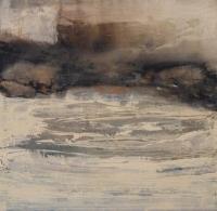 Siobhan McDonald, Mystic Place, 75 x 75 cm, mixed media on canvas, 2015