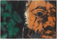 Hughie O'Donoghue, Green Man (C) III, 2011, monotype, 37 x 55 cm, € 2,900