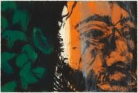 Hughie O'Donoghue, Green Man (C) IV, 2011, monotype, 37 x 55 cm, € 2,900