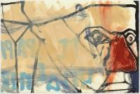 Hughie O'Donoghue, Il Papa III, 2011, monotype, 37 x 55 cm, € 2,900