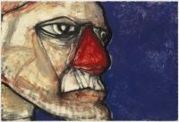 Hughie O'Donoghue, Rioba III, 2011, monotype, 37 x 55 cm, € 2,900