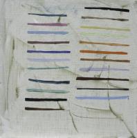 Helen O'Leary, Colours I Want, egg oil on linen, 15 x 15