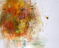 Helen O'Leary, The Cost of Things that Matter, egg oil on linen, 60 x 72 SOLD