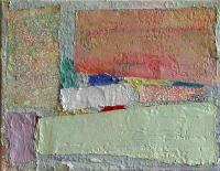 Helen O'Leary, Division, egg oil on linen, 8 x 12
