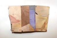 Helen O'Leary, Rimbeaud's puddle, wood construction and egg oil, 2013, € 1,300