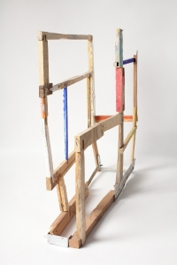 Helen O'Leary, Irregular Activint - the story of some, wood and egg oil, 2013, € 2,000