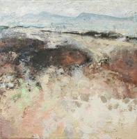 Frances Ryan, Towards Clare Island, oil on canvas, 40 x 40 cm, 2004, SOLD