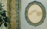 Frances Ryan, Nettle, 25 x 40 cm, oil, collage, lumen print, resin, 2013, €875