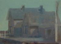Frances Ryan, Station ii, 13 x 18 cm, oil & collage on panel, 2013, €300