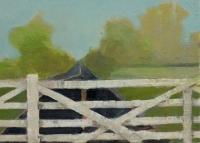 Frances Ryan, Station iii, 13 x 18 cm, oil & collage on panel, 2013, €300