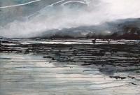 Imelda Kilbane, Sound, mixed media on paper, 55.8 x 76.2cm, 2014