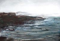 Imelda Kilbane, Evanesce, mixed media on paper, 55.8 x 76.2cm, 2014