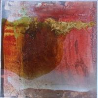 Leonard Sheil, Golden Apple, mixed media on canvas, 2007, SOLD