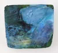 Leonard Sheil, Tidal Series X, mixed media on board, 28 x 32 cm, 2013-14