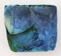 Leonard Sheil, Tidal Series XI, mixed media on board, 28 x 32 cm, 2013-14