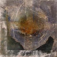 Leonard Sheil, Wayfaring, 46 x 46 cm, mixed media on canvas, 2003-2014, € 1,900