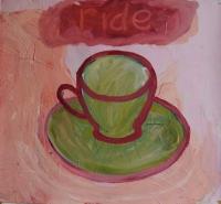 Suzy O'Mullane, Ride, 46 x 50 cm, oil on paper, 2012, €1,900