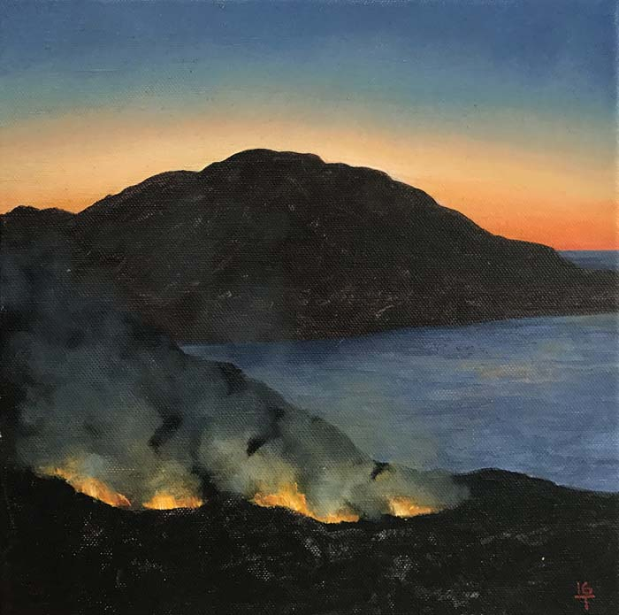 Goulding, Sunset Fires 1