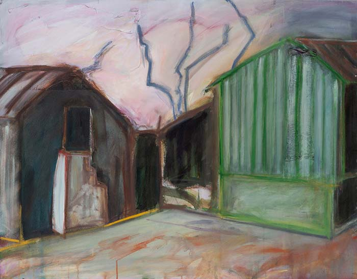 Katherine Boucher Beug, The Yard