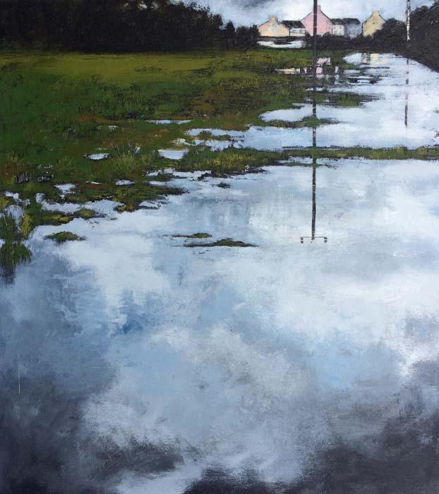 Janet Murran, Reflections, Ilen River 2