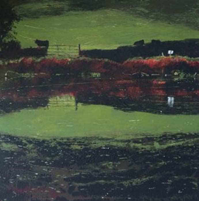 Janet Murran, The green, green grass of home